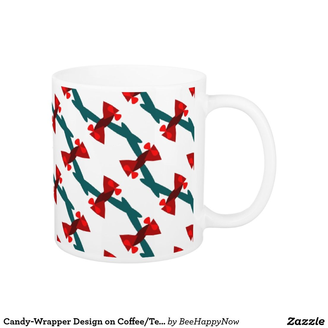 Candy-Wrapper Design on Coffee/Tea Mug