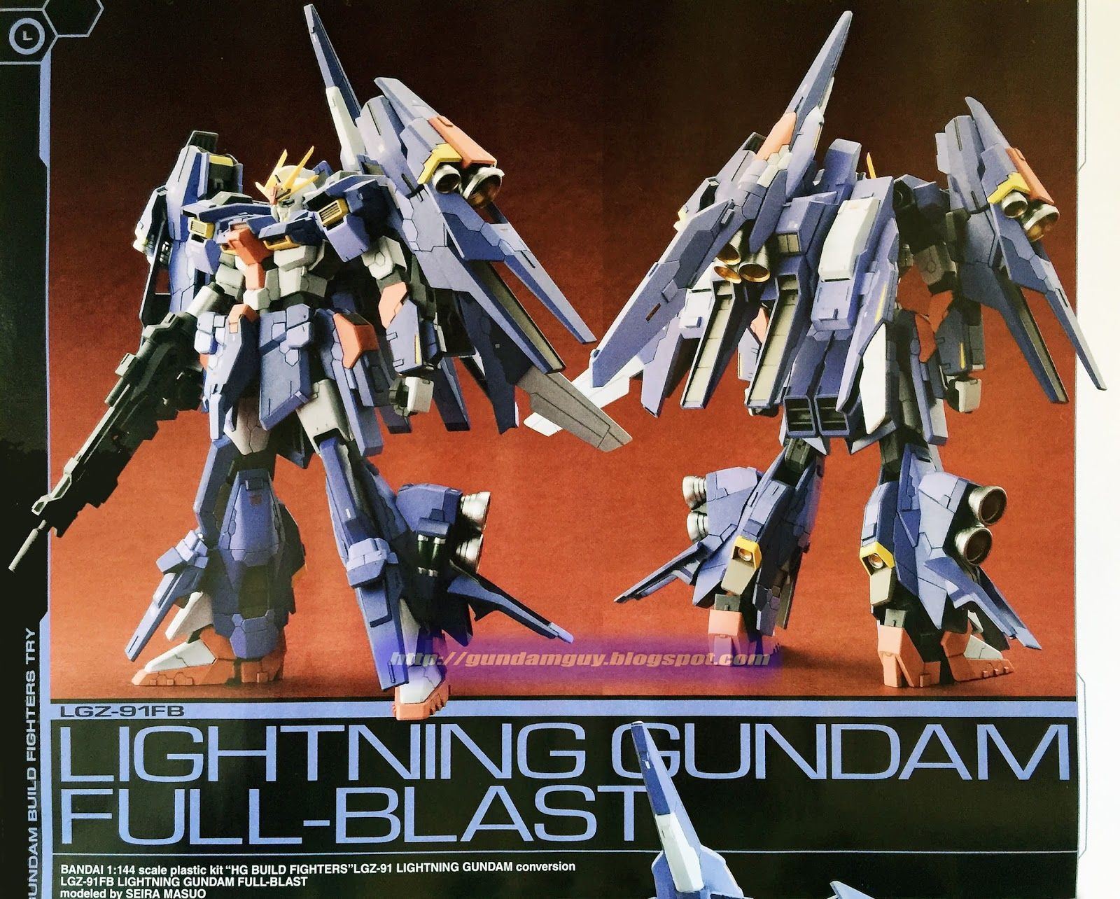 1 144 Lightning Gundam Full Blast Custom Build Gundam Gundam Custom Build Custom Gundam