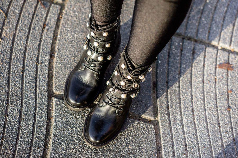 erstaunlicher Preis ziemlich cool Großhandelspreis Biker Boots mit Perlen w/ Sacha Schuhe - Fashion Blog ...