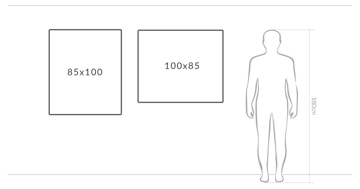 Zielona Szkolna Kredowa Tablica Magnetyczna 100x85 Okay Gesture