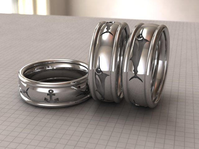 Fiafourie Freelancer Co Za Marlin Men S Wedding Band Modelling Rendering Cad Cam Fashion Design