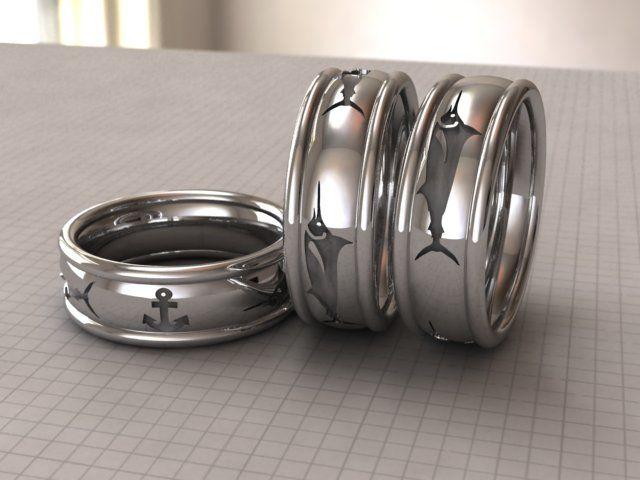 Fiafourie Freelancer Co Za Marlin Men S Wedding Band Modelling