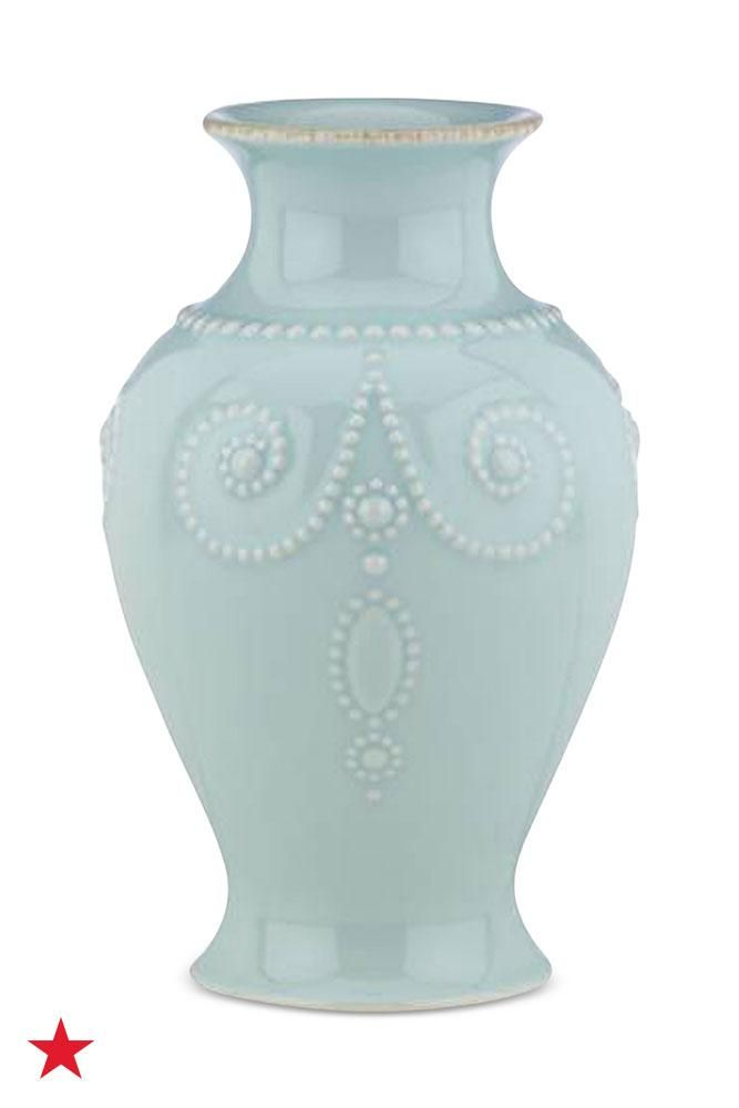 For effortlessly beautiful flower arrangements, pick up one of these embossed vases from Lenox. If your table setting has an antique theme, this will be perfect. Shop it now on macys.com!