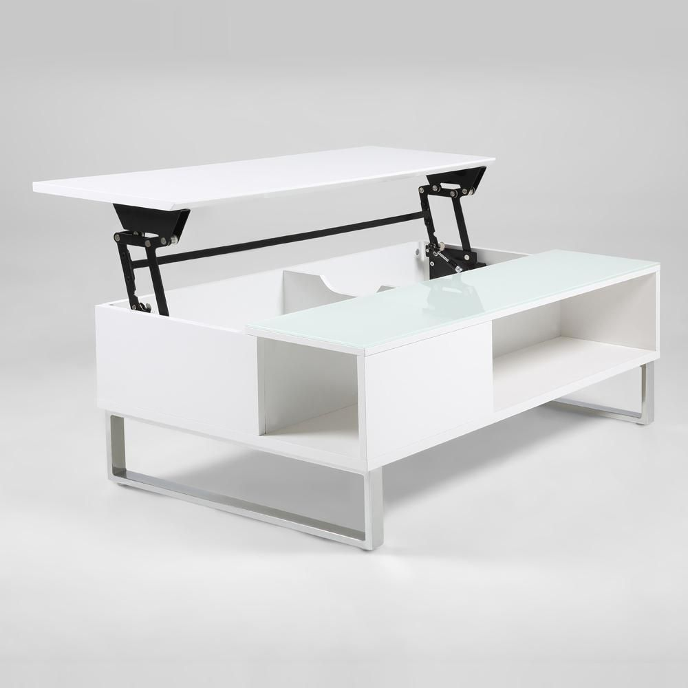 Wohnzimmertisch Weiss Coffee Table Coffee Table White Coffee Table With Storage [ 1000 x 1000 Pixel ]