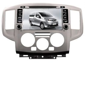 7 nissan nv200 nissan evalia dvd player with touch. Black Bedroom Furniture Sets. Home Design Ideas