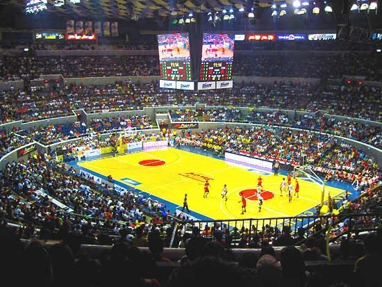 Araneta Coliseum Quezon City Philippines Home Of The Thrilla In Manila And The Philippine Basketball Associati Thrilla In Manila Philippines Sports Tickets