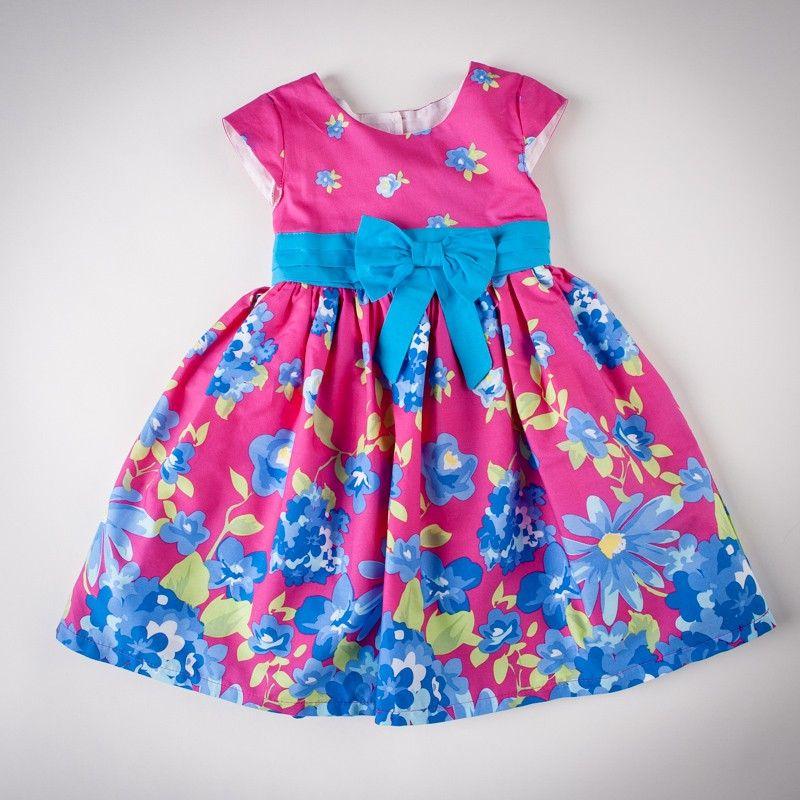 Catimini. Платье с ярким цветочным принтом (артикул O 50181-flowers) - 569 грн.
