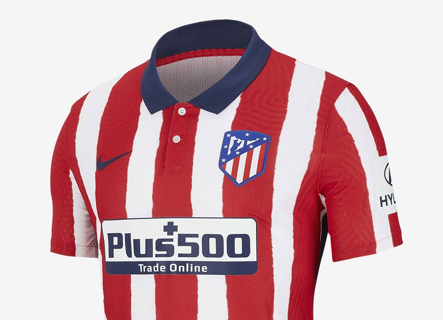 Atletico Madrid 2020 21 Nike Home Kit Atleticomadrid Atleti Nikefootball Atletico Madrid Atletico De Madrid Red And White Stripes