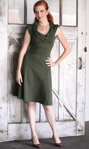 5623d7862251 Lisette Dress - Olive