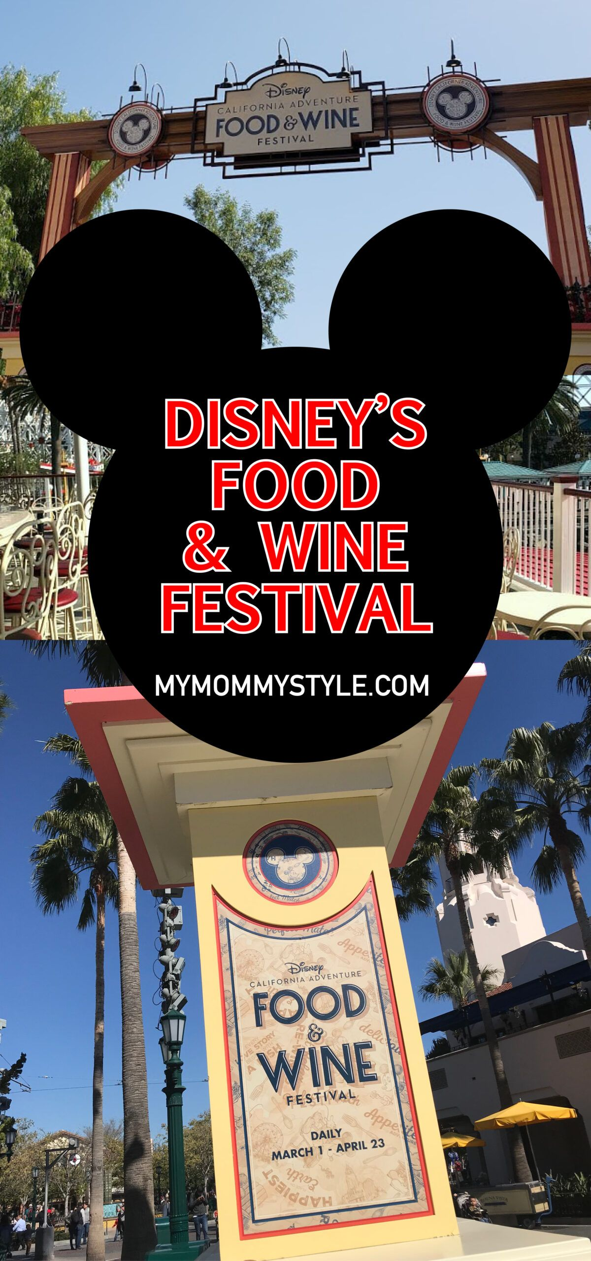 Disney Food And Wine Festival My Mommy Style In 2020 Wine Festival Disney Food Wine Recipes