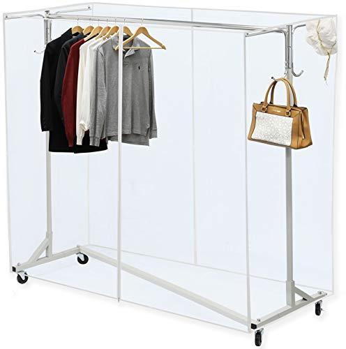 Simple Houseware Industrial Grade Z Base Garment Rackbest Offer Storagevat Com In 2020 Garment Racks Clothing Rack Clothes Storage Organizer