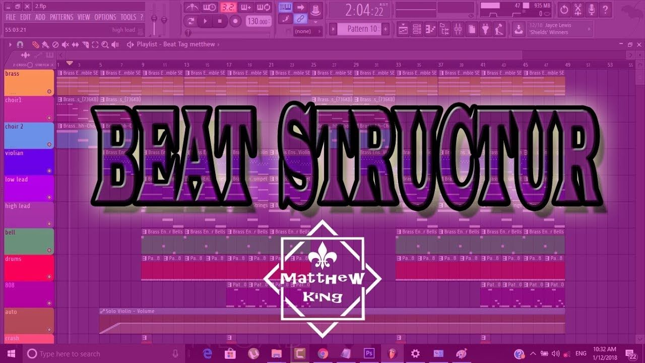 HOW TO ARRANGE A HIP-HOP SONG IN FL STUDIO [SONG STRUCTURE