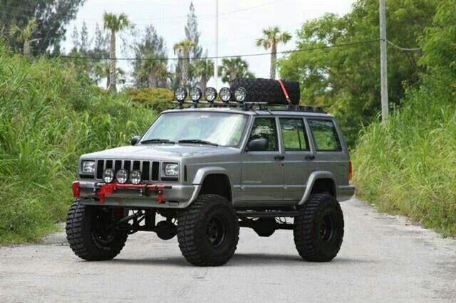 Silver Xj Jeep Xj Mods Jeep Cherokee Sport Jeep Xj