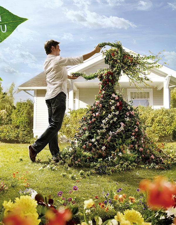 Leroy Merlin Gardenclient Leroy Merlinagency M Csaatchiexecutive Creative Director Vincenzo Gasbarro Luca Garden Art Topiary Garden Beautiful Gardens