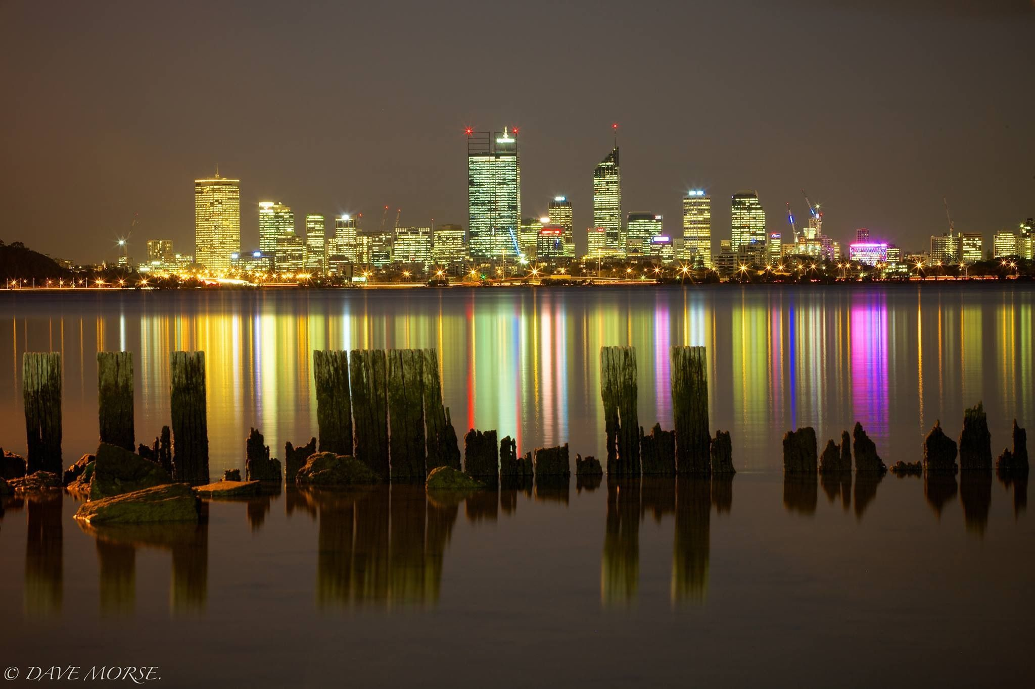 Lighting Stores Perth Wa City Lights Of Perth Western Australia Dave Morse Beautiful