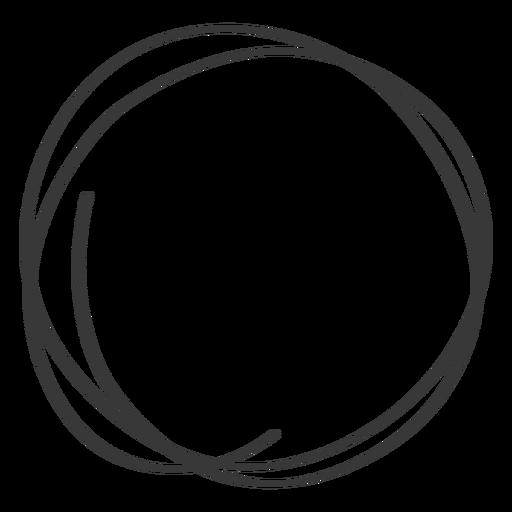 Hand drawn circle scribble icon #AD , #Ad, #ad, #drawn, # ...
