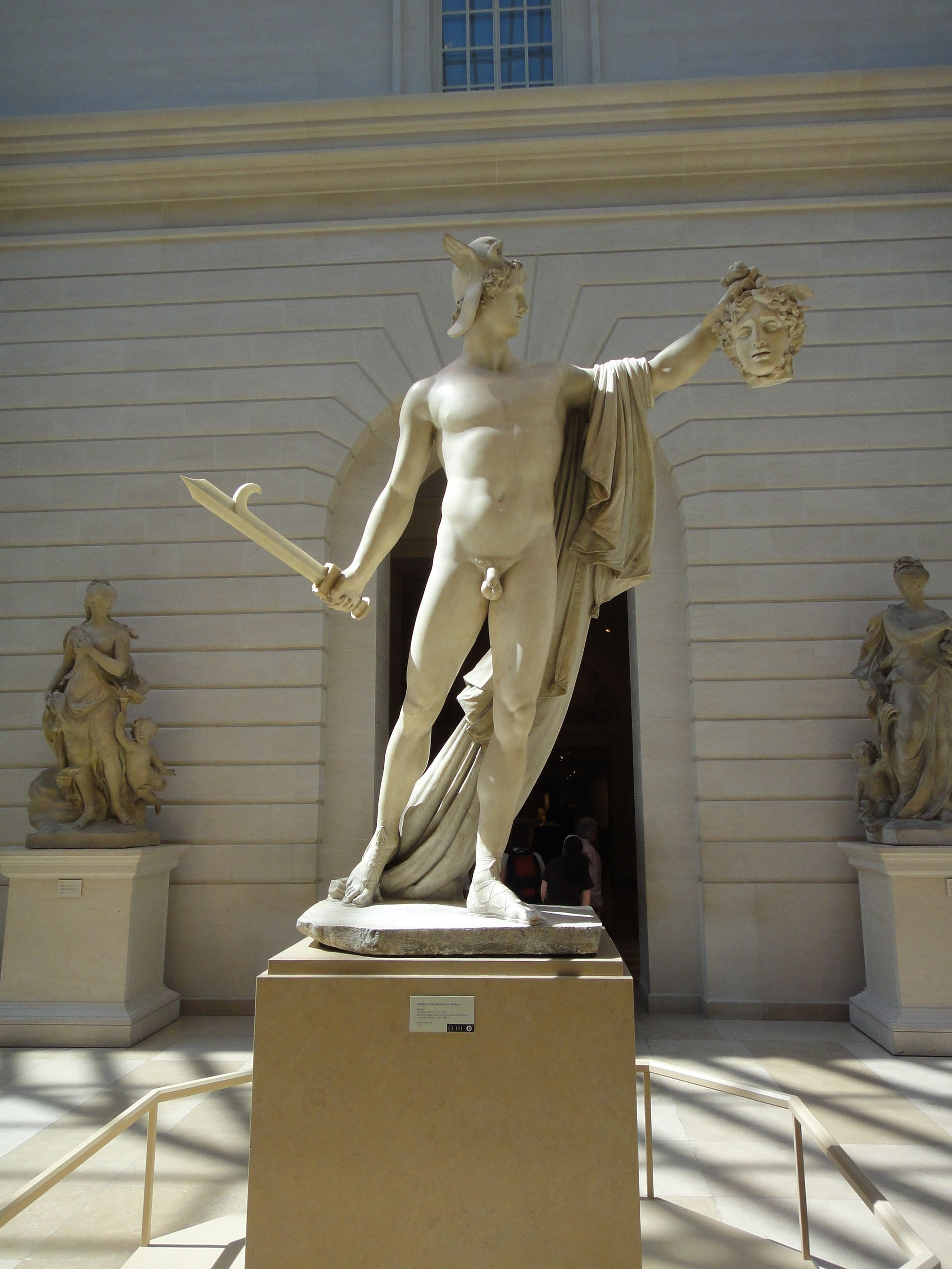 Perseus With The Head Of Medusa Antonio Canova Italian