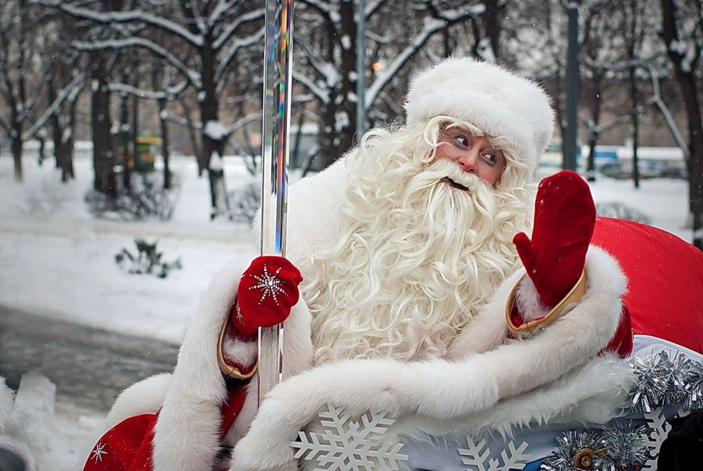 Дед мороз фотки
