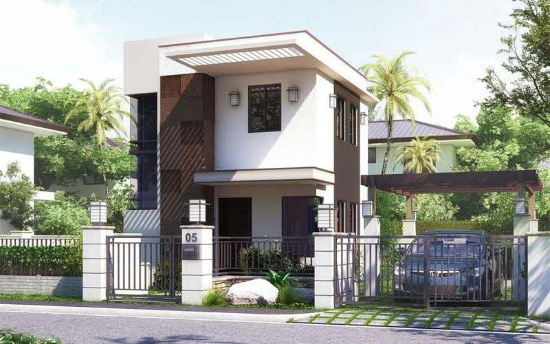 Pinoy house design 201512 is a small house design in a two for Two storey house design philippines