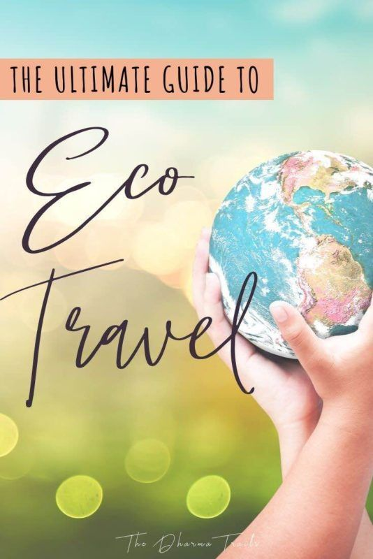 Looking for the best Eco Travel tips? We've got the ultimate guide for you, filled with eco travel products, packing gear, sustainable fashion, responsible tourism and more.   #greentravel #ecotravel #responsibletravel