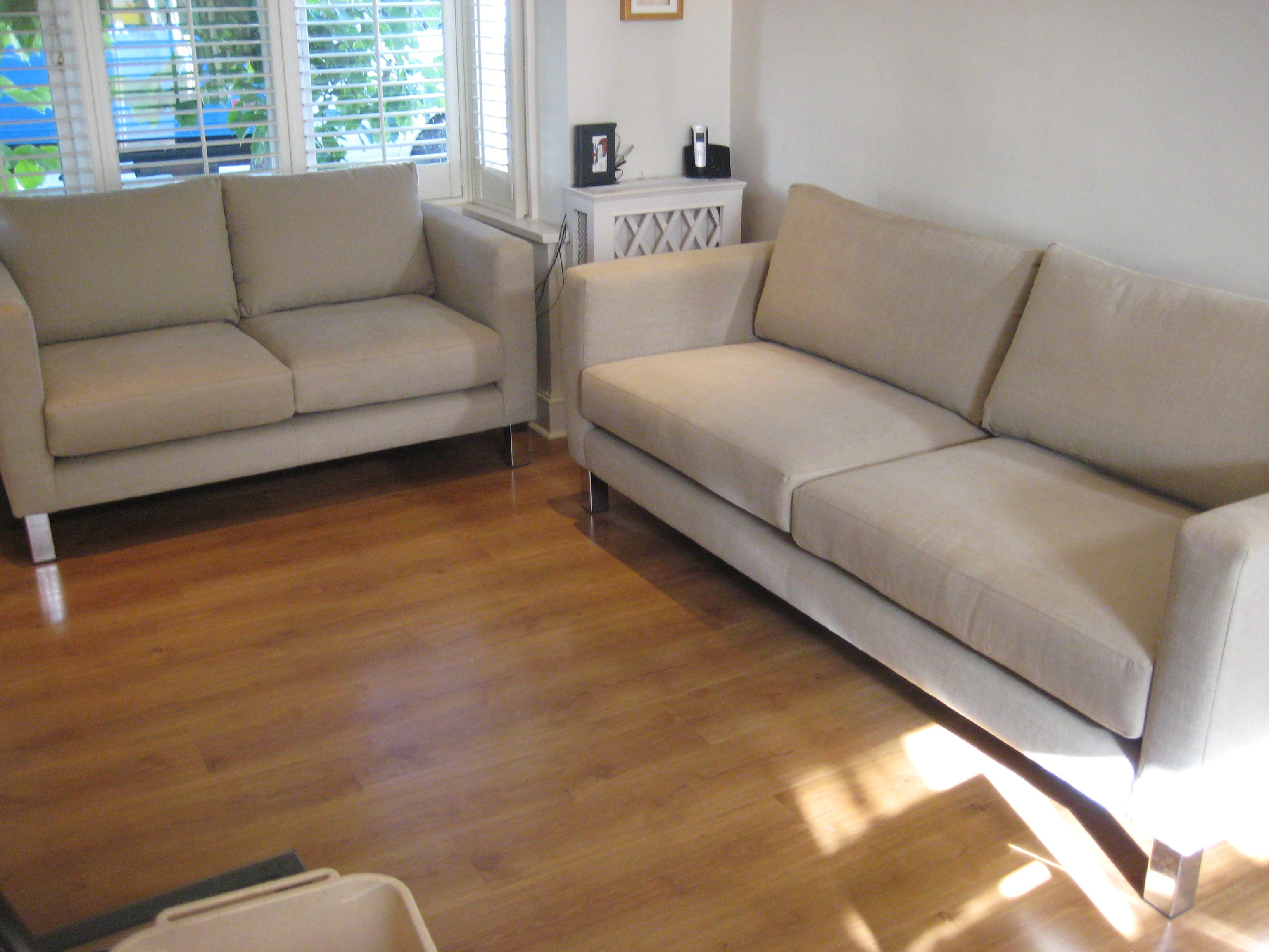 Made To Measure Sofas Both Are Different Sizes Width And Depth