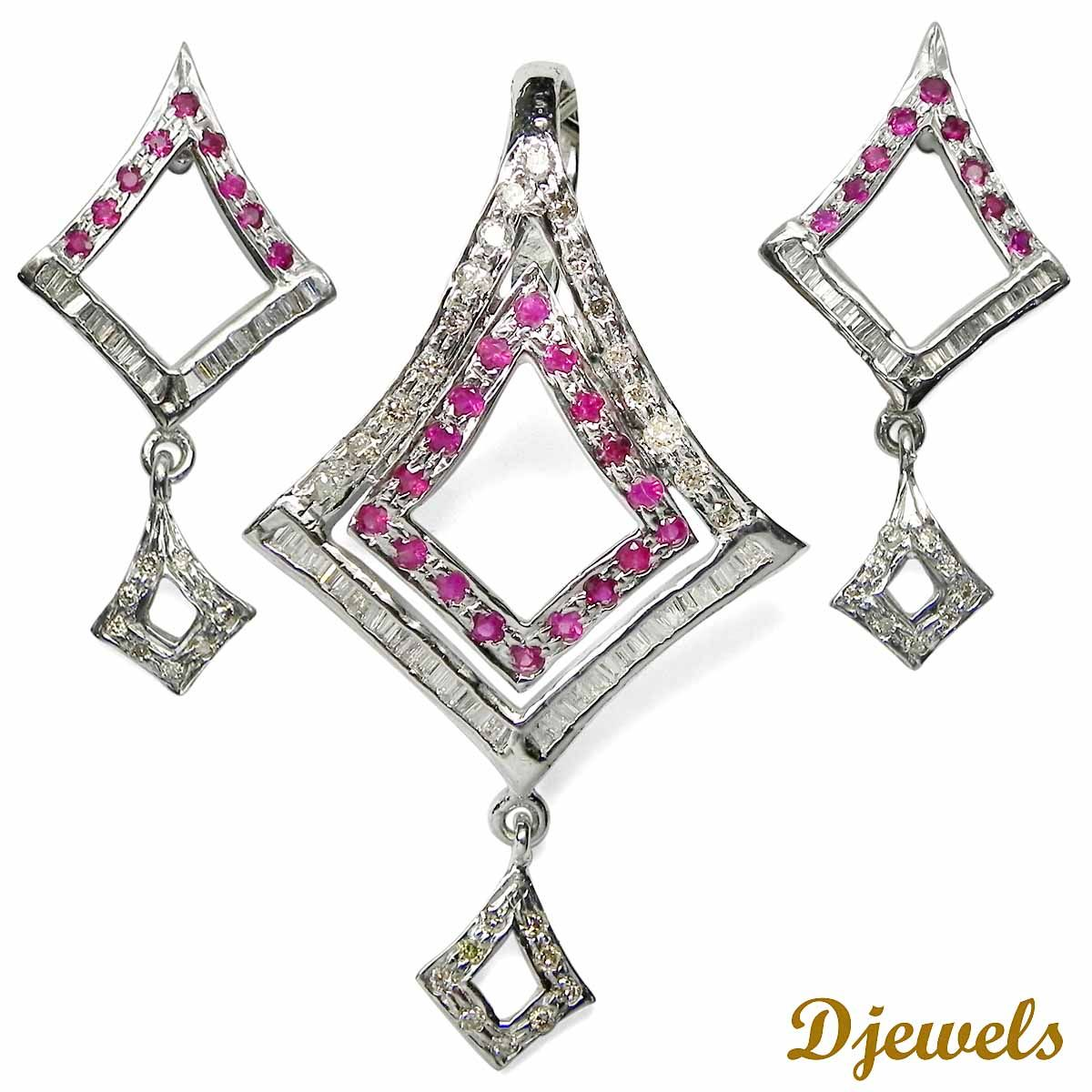 Diamond pendant set k hm gold diamond pendant set designs