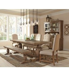 Reclaimed Pine Caleb Dining Table Con Imagenes Decoracion De