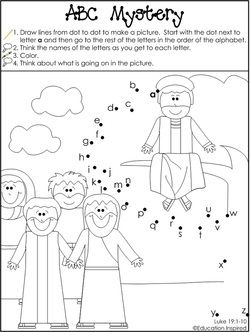 Biblical Beginner Reader Activities Sunday School Kids