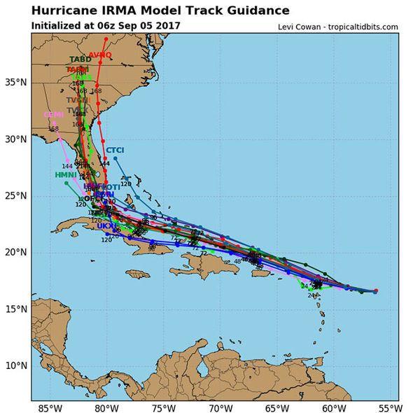 Hurricane Irma path update: When will Hurricane Irma hit
