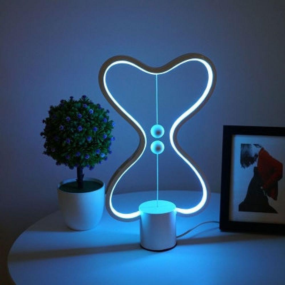 7 Color Changeable Heng Balance Lamp Usb Powered Home Decor Bedroom Office Kids Desk Lamp Children Gift Christmas Night Lamp 2020 Tasarim Gece Ve Trendler