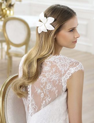 The 30 Most Romantic Wedding Hairstyle Ideas Short Lace Wedding