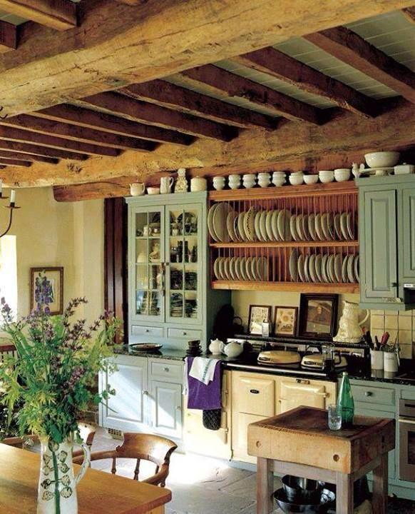 Estilo country rústico francés. | Rusticasa | Pinterest | Cucina ...
