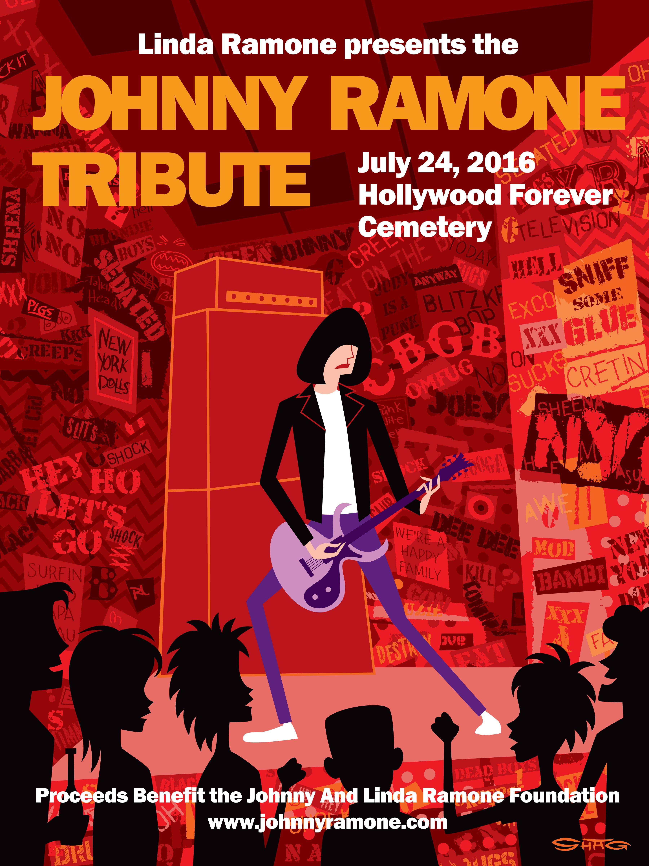 PUNK ROCK LEGENDS UNITE FOR 2016 JOHNNY RAMONE TRIBUTE – Johnny Ramone