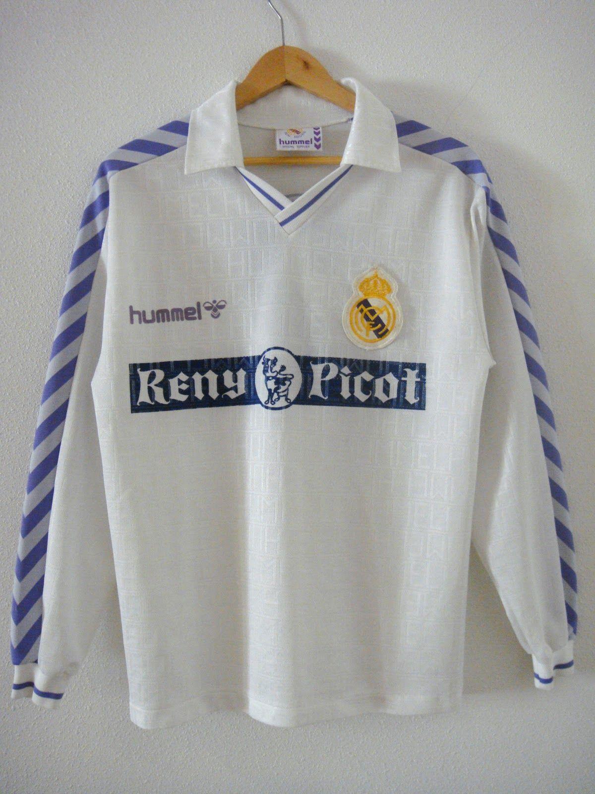 Real Madrid 89-90 shirt  1d5eb206d