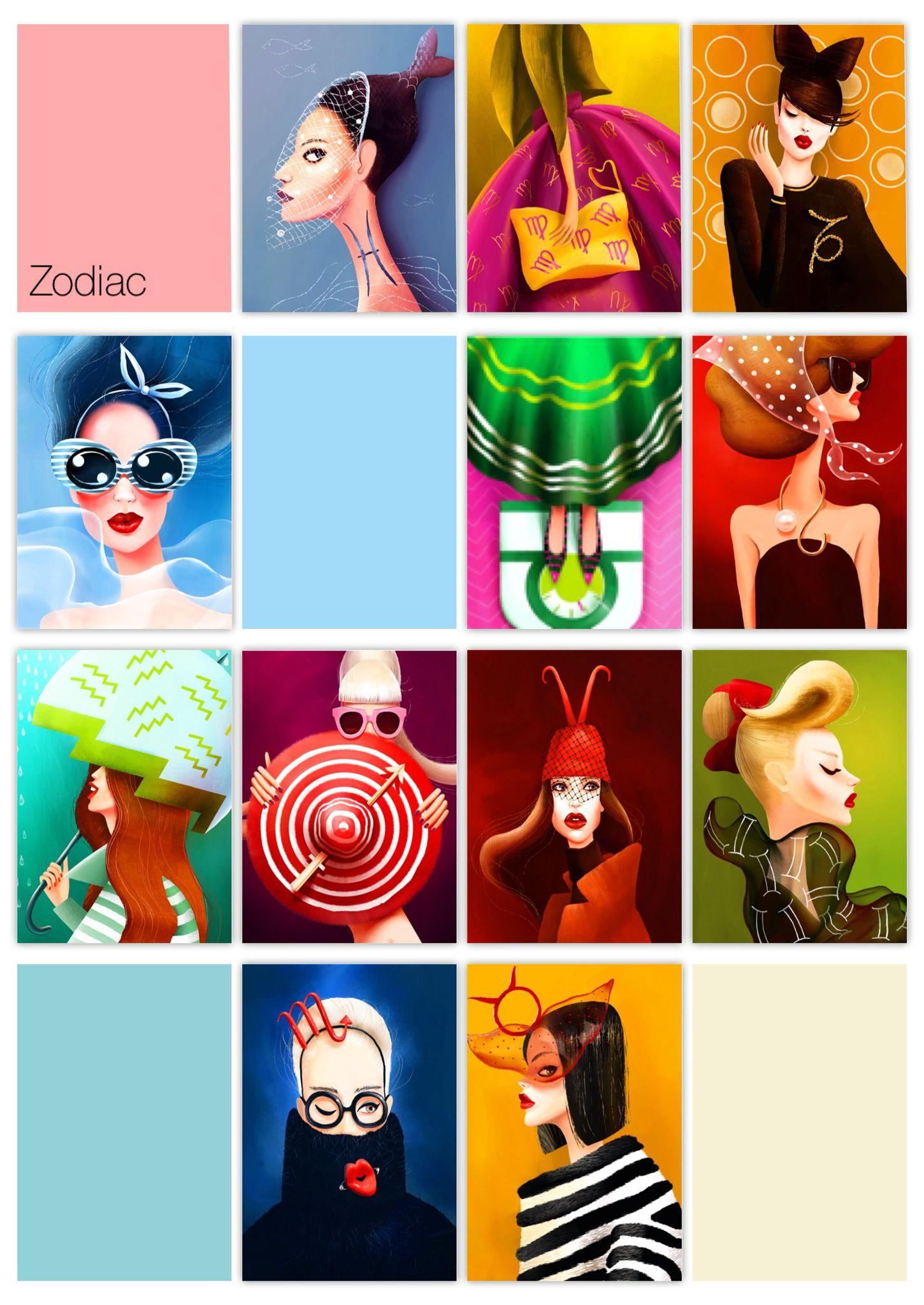 Zodiac, 14❤️, signos zodiacales