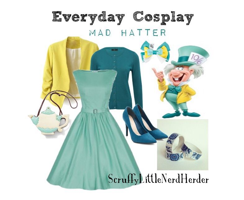 Alice In Wonderland Everyday Cosplay Everyday Cosplay Mad Hatter Outfit Mad Hatter Costume Female