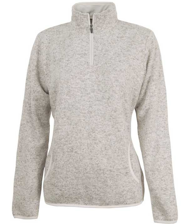 Charles River Apparel 5312 Women's Heathered Fleece Pullover ...