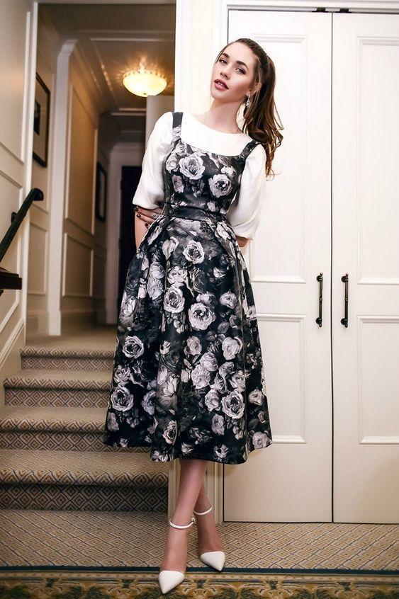 15 Maneras de usar un look 'Vintage' con estilo y sin parecer abuelita #modestfashion