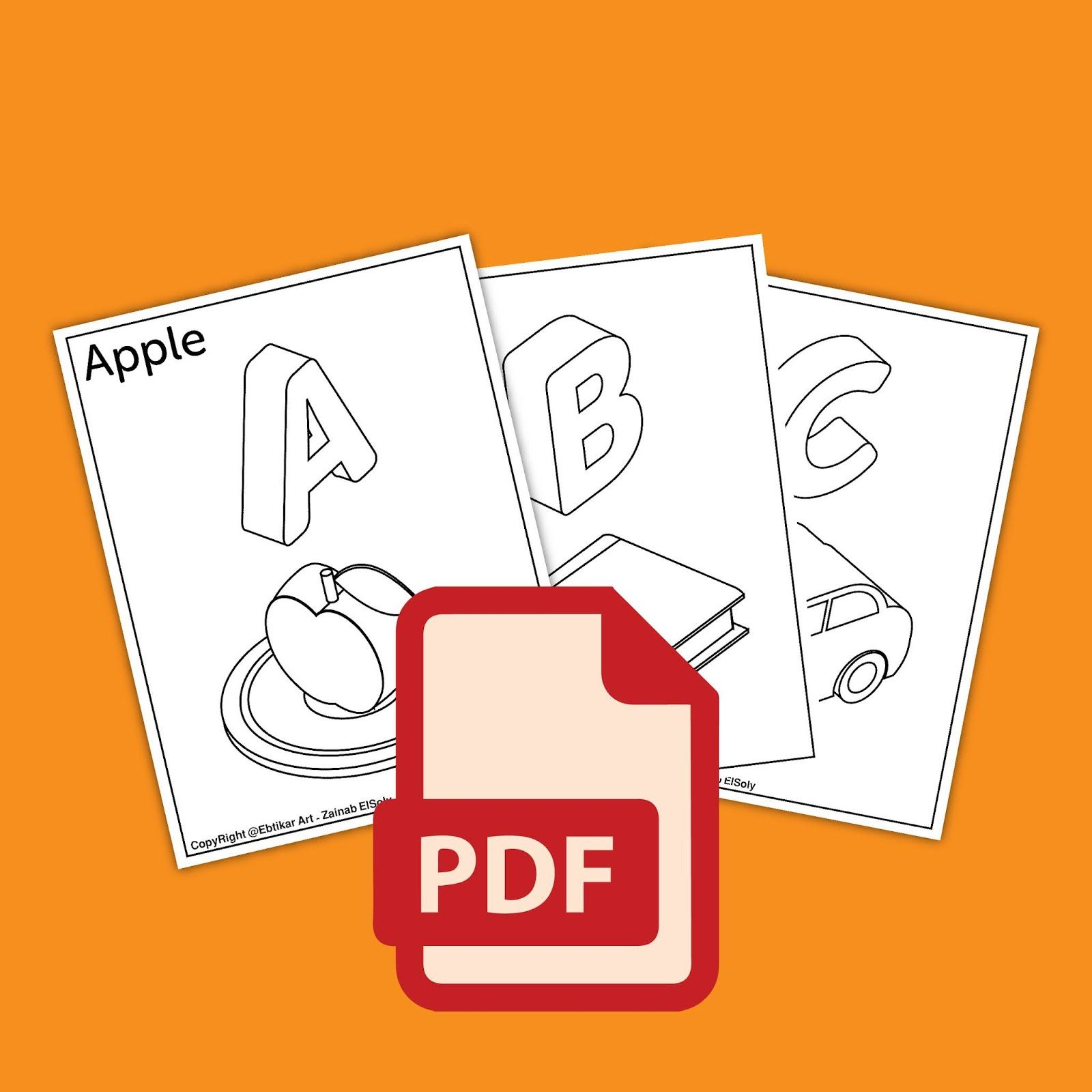 3d Abc Alphabet For Kids Free Download In