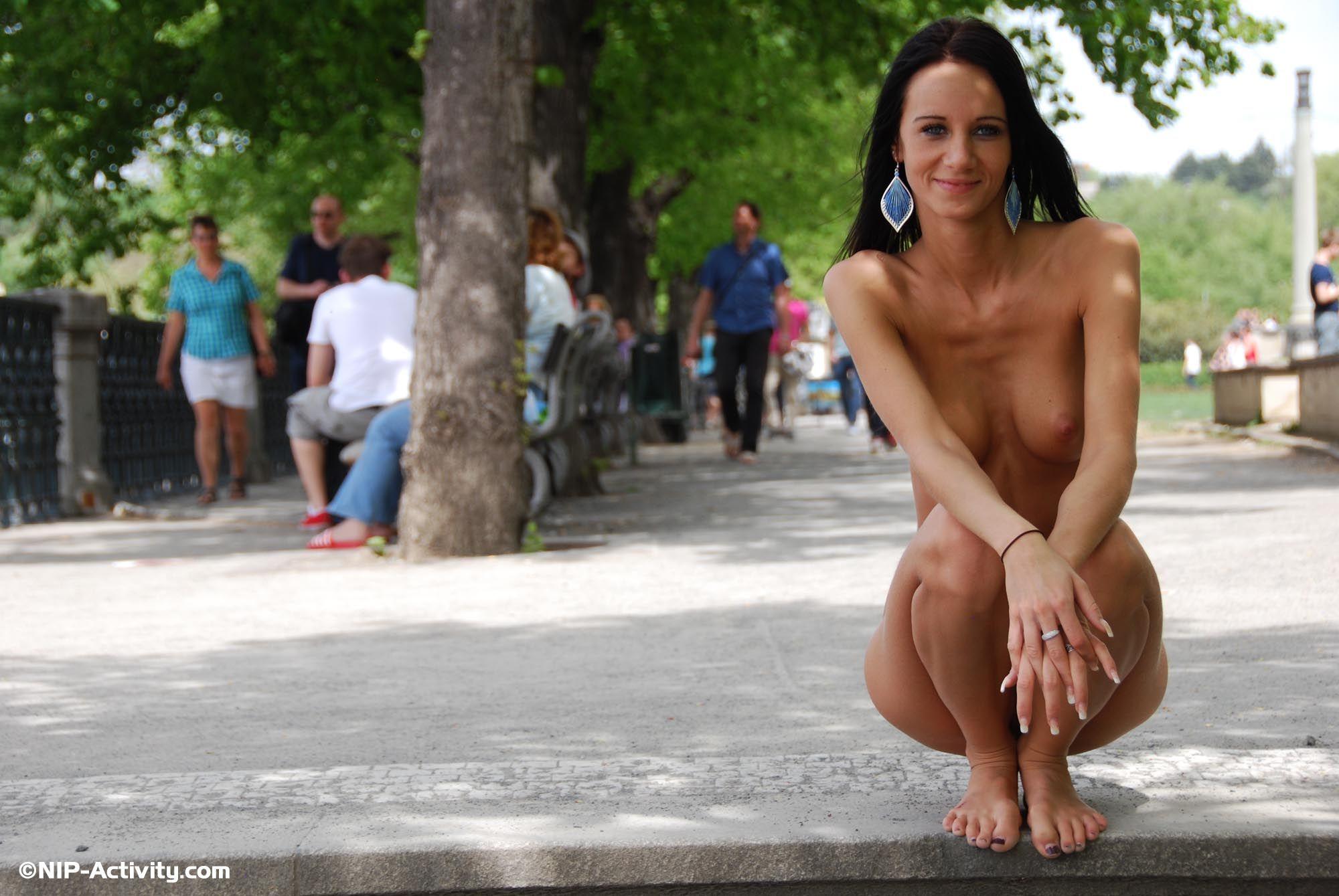 Martina In Prague  Nude In Public-2074
