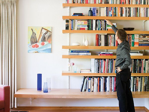 Architect Stephen Atkinson Wanted A Built In Bookcase In