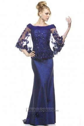 Trumpet/mermaid Off-the-shoulder Tulle Mother Of The Bride Dresses - IZIDRESS.com