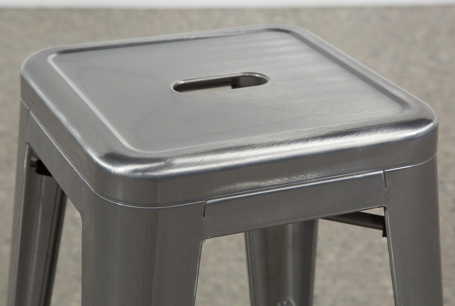 Radical Silver Counter Stool 60 Counter Stools Stool Foot Rest
