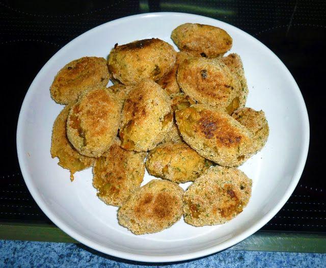 Cocina light Croquetas vegetales al horno  Recetas Light