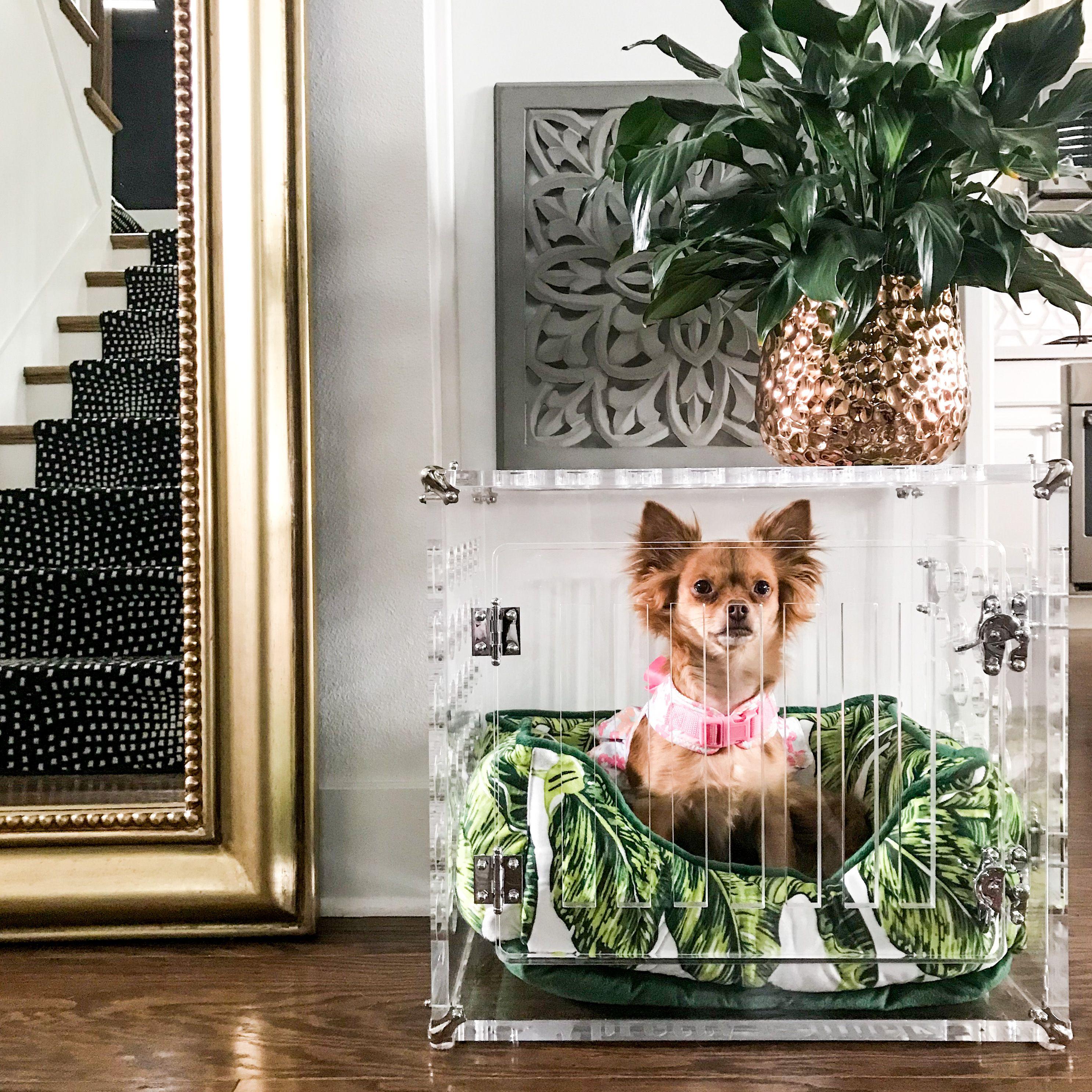 Custom Size Pretty Kennel Pet Crate Pet Furniture Kennel