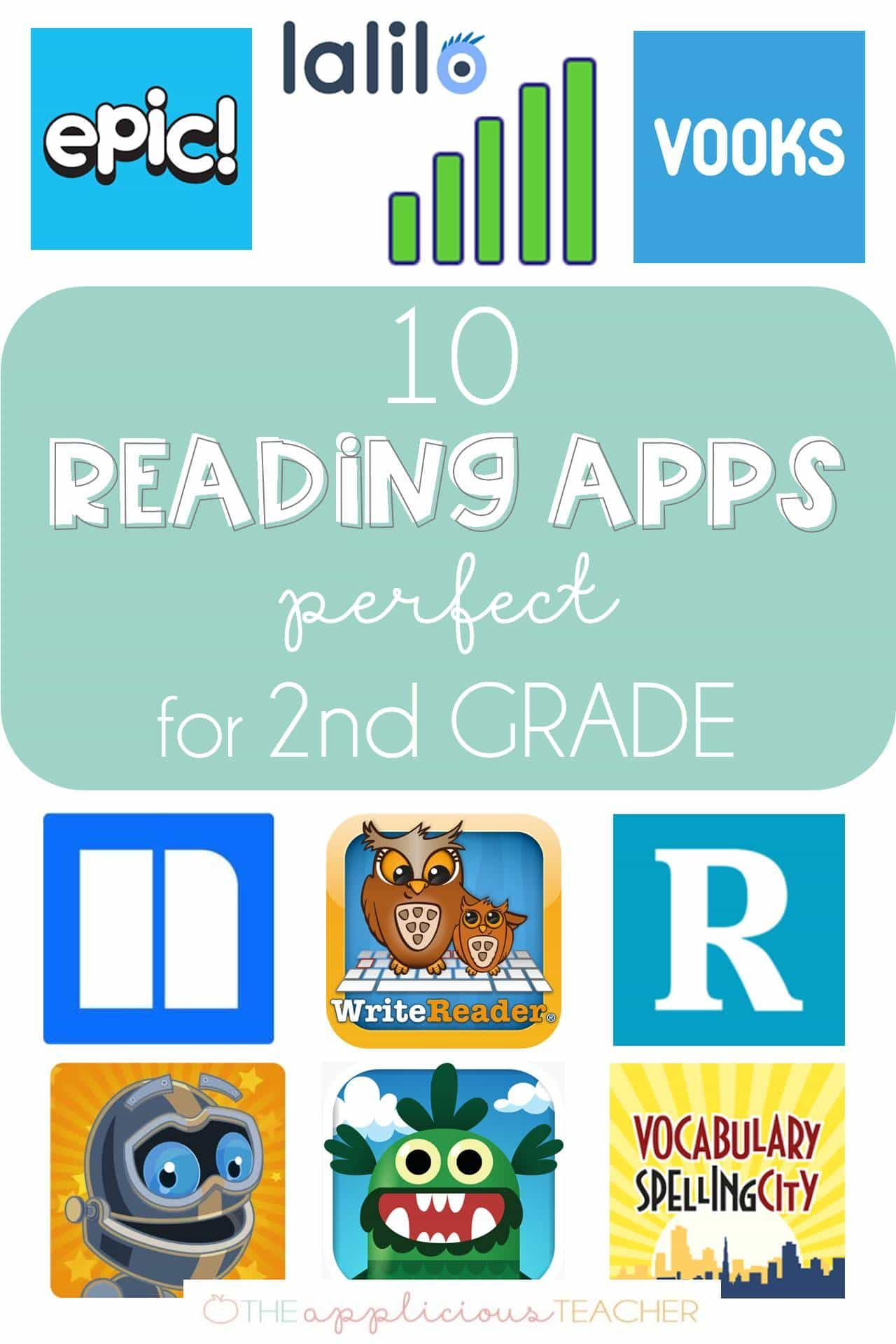 10 Reading Apps Perfect for 2nd Grade 2nd grade reading