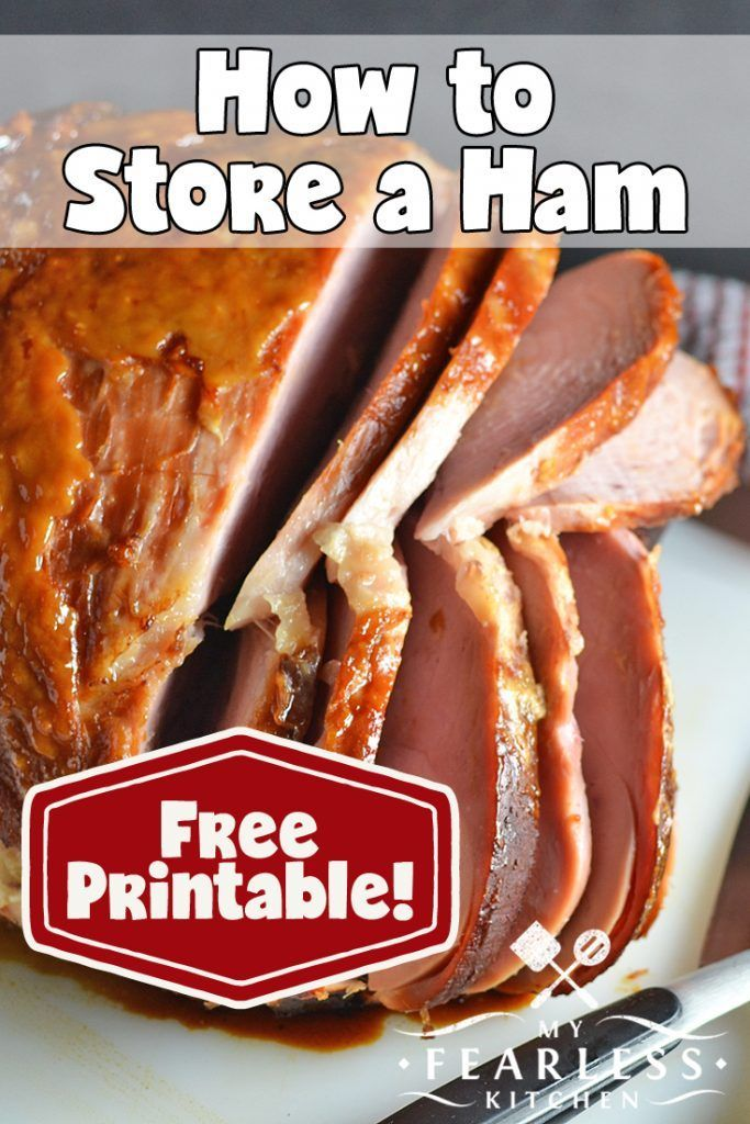 How to Store a Ham from My Fearless Kitchen. What\'s the best way to ...