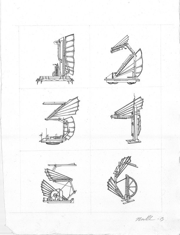 Pen on paper illustration by Nora Brech (www.norabrech.com