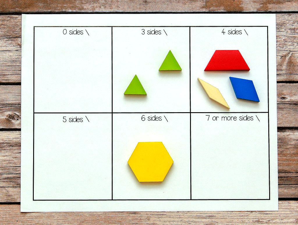 Geometry Worksheets Activities Centers And Posters For Kindergarten