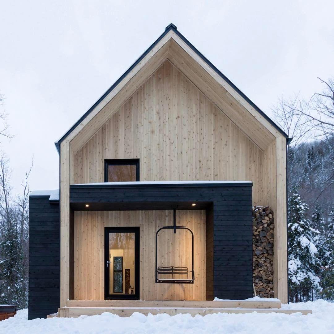Colour Block   Natural And Black Timber. Scandinavian ArchitectureModern  Architecture HouseScandinavian ... Nice Design